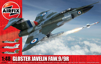 Classic Kit letadlo A12007 - Gloster Javelin (1:48)