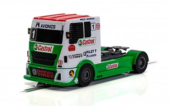 Racing Truck - Red & Green & White - Autíčko Touring SCALEXTRIC C4156