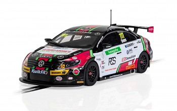 VW CC Team HARD - BTCC 2019 - Michael Crees - Autíčko Touring SCALEXTRIC C4174
