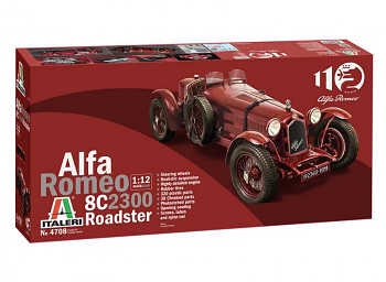 Model Kit auto 4708 - Alfa Romeo 8C 2300 Roadster (1:12)
