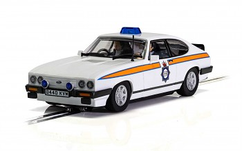 Ford Capri MK3 - Greater Manchester Police - Autíčko Touring SCALEXTRIC C4153
