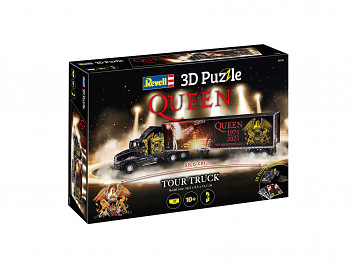 3D Puzzle REVELL 00230 - QUEEN Tour Truck - 50th Anniversary