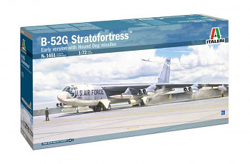 Model Kit letadlo 1451 - B-52G Stratofortress Early version with Hound Dog Missiles (1:72)