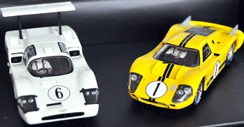 Set Chapparal 2F + Ford GT40MKIV