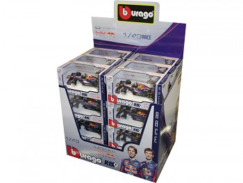 Bburago 1:43 Red Bull formule RB9 sada 24ks