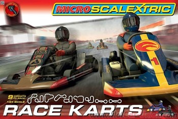 Micro Scalextric Race Karts