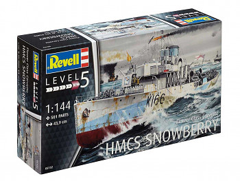 Plastic ModelKit loď 05132 - Flower Class Corvette (early) (1:144)