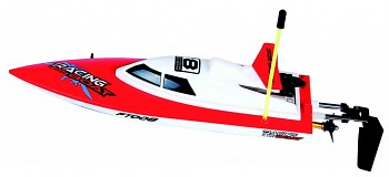 High Speed Boat 280 red