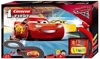 Autodráha Carrera FIRST - 63010 Disney Cars 3