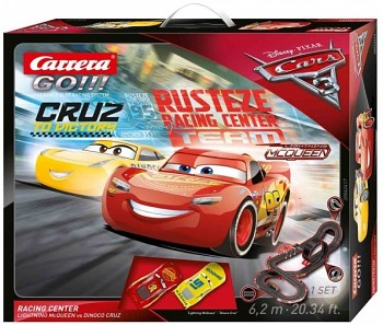 Autodráha Carrera GO Cars 3 - Racing Center