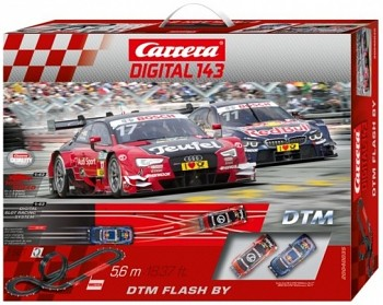 Autodráha Carrera DTM Flash By