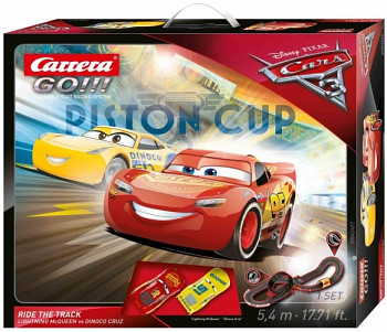 Autodráha Carrera GO Cars 3 - Ride Track