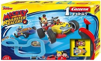 Autodráha Carrera FIRST - 63013 Mickey Racers