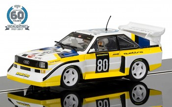 60th Anniversary Collection SCALEXTRIC C3828A - Audi Sport quattro S1 E2 Limited Edition