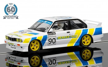60th Anniversary Collection SCALEXTRIC C3829A - BMW E30 M3 Limited Edition