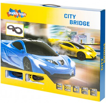 Autodráha Buddy Toys City Bridge
